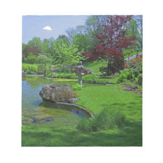 Spring in the Schedel Garden Notepad