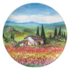 SPRING IN TUSCANY PLATE