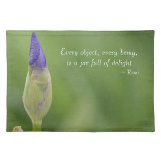 Spring Iris Placemat