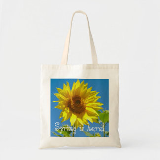 Spring is here! - Springtime sunflowers Tote Bag
