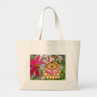 Spring is in the Air Large Tote Bag