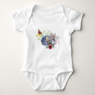 Spring Jackalope Baby Bodysuit
