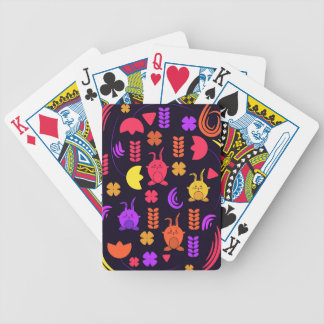 spring joy poker deck