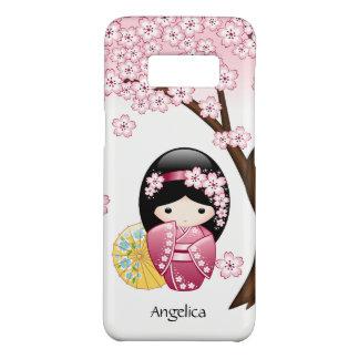 Spring Kokeshi Doll - Cute Japanese Geisha Girl Case-Mate Samsung Galaxy S8 Case