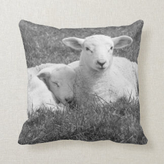 Spring lamb cushion