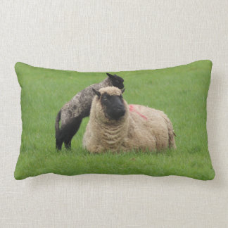 Spring Lamb Lumbar Pillow