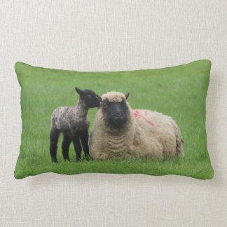 Spring Lamb Lumbar Pillow