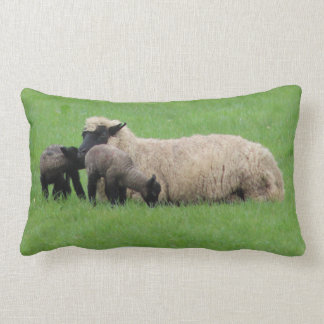 Spring Lambs Lumbar Pillow