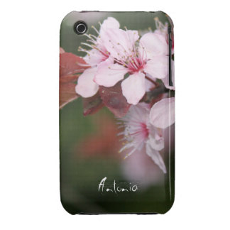 spring light pink plum flowers iPhone 3 Case-Mate cases