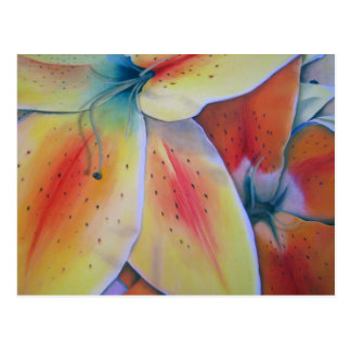 Spring Lilies Postcard