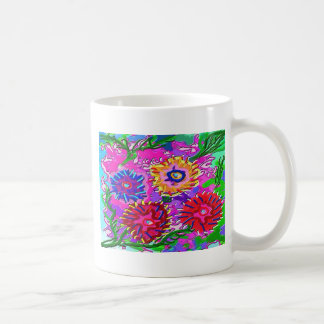 Spring Love For You -  Vibrant Foral Romance V1 Coffee Mugs