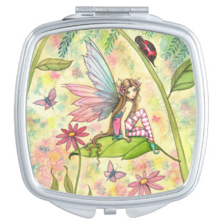 Spring Magic Fairy Fantasy Art Travel Mirror
