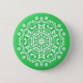 Spring Mandala 2 Inch Round Button