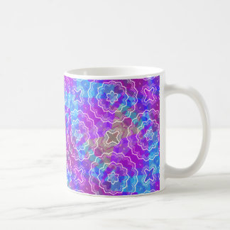 Spring Mandala Kaleidoscope Pattern Print Mug