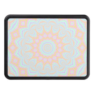 Spring Mandala Trailer Hitch Cover