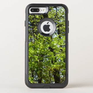 Spring Maple Leaves Green Nature OtterBox Commuter iPhone 8 Plus/7 Plus Case