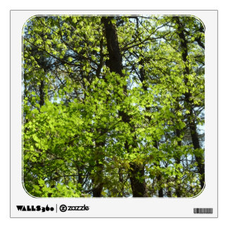 Spring Maple Leaves Green Nature Wall Decal