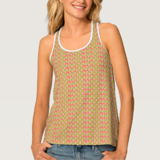 Spring_Meadow_Abstract_Fun_Everyday Tank Top