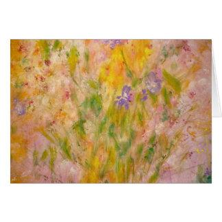 """Spring Meadow"" Art Card"