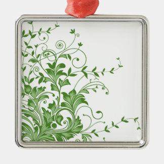 Spring Meadow Metal Ornament