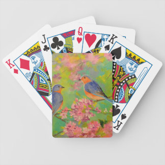 Spring Melody Bicycle Playing Cards