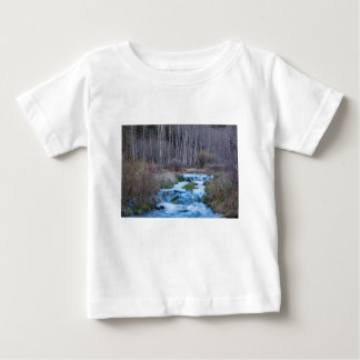 Spring Melt Off Flowing Down From Bonanza Baby T-Shirt