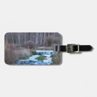 Spring Melt Off Flowing Down From Bonanza Luggage Tag