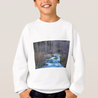 Spring Melt Off Flowing Down From Bonanza Sweatshirt