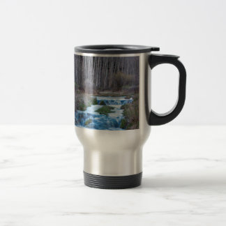 Spring Melt Off Flowing Down From Bonanza Travel Mug