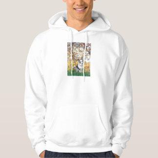 Spring - Merle Welsh Corgi Hoodie