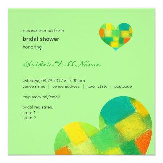 Spring mint Bridal Shower Invitation