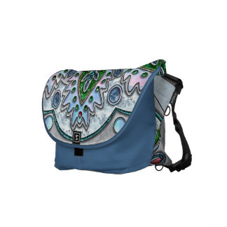 Spring Morning Medallion Courier Bags