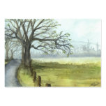 """""""Spring Morning"""" Pack Of Chubby Business Cards"""