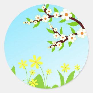 Spring morning - Sticker