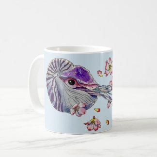 spring nautilus coffee mug