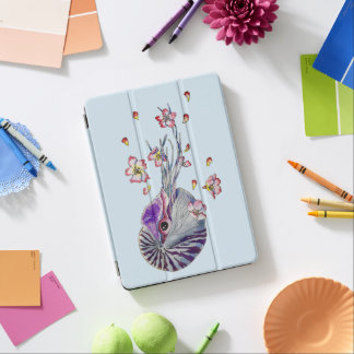 spring nautilus iPad air cover