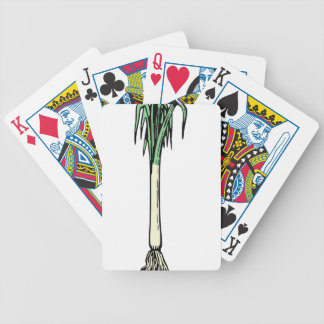 Spring Onion Bicycle Playing Cards
