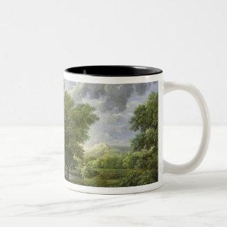 Spring, or The Garden of Eden Two-Tone Coffee Mug