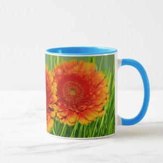 Spring Orange Flowers Mug