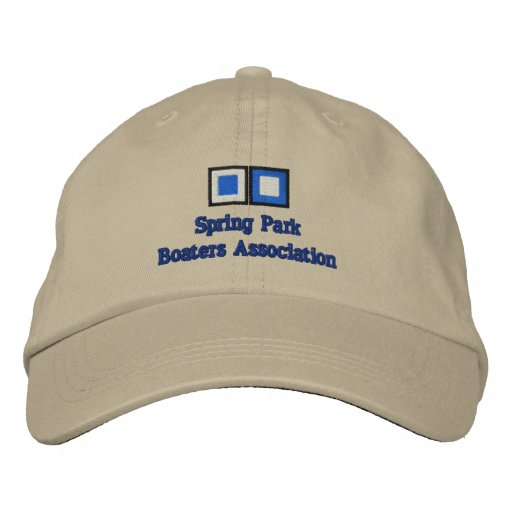 Spring Park, Boaters Association Embroidered Hats