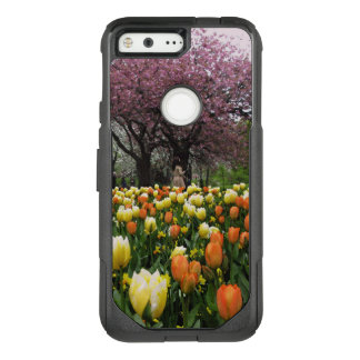 Spring Park Flower Trees Photo OtterBox Commuter Google Pixel Case