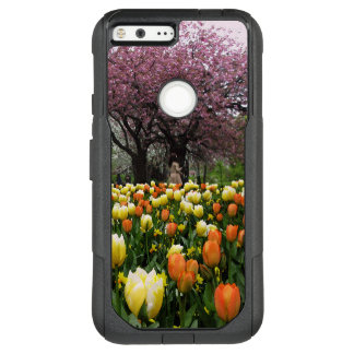 Spring Park Flower Trees Photo OtterBox Commuter Google Pixel XL Case