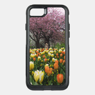 Spring Park Flower Trees Photo OtterBox Commuter iPhone 8/7 Case