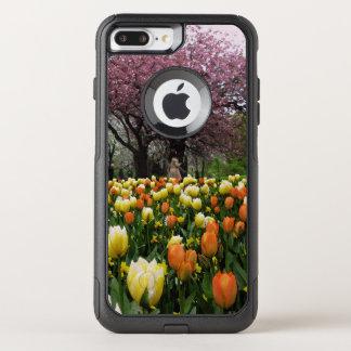 Spring Park Flower Trees Photo OtterBox Commuter iPhone 8 Plus/7 Plus Case