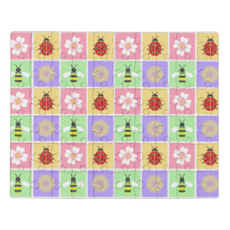 Spring Patches Acrylic Puzzle