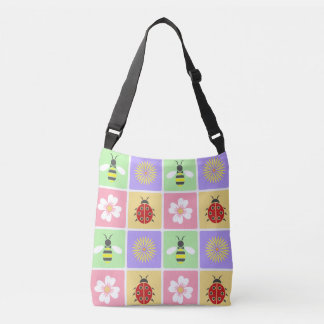 Spring Patches All-Over-Print Bag