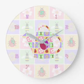 Spring Patches Clock