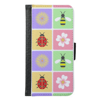 Spring Patches Smartphone Wallet Case