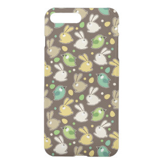 spring pattern with easter eggs,birds iPhone 7 plus case