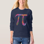 Spring Pi - Flowery Colourful Pi Day Gifts T-shirts